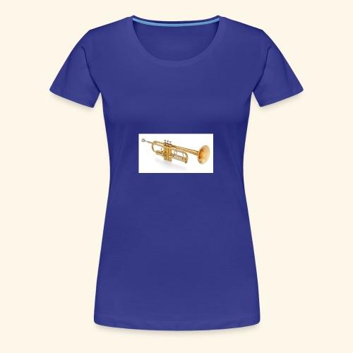 trompete - Frauen Premium T-Shirt