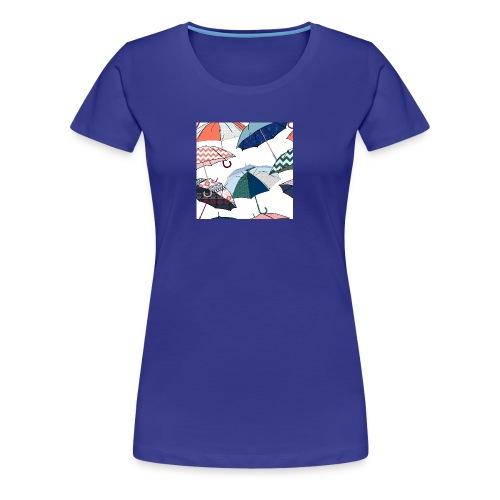Umbrellas - Women's Premium T-Shirt
