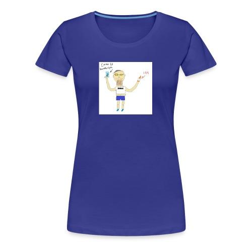 Hipster at Häng Bar - Premium-T-shirt dam