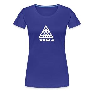 Triangel Konst - Premium-T-shirt dam
