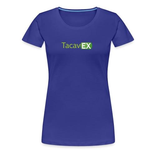 Logo TacavEX Horizontal - Camiseta premium mujer