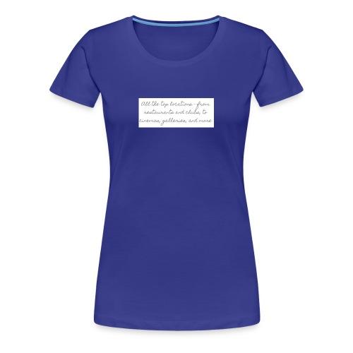 wf - Premium-T-shirt dam