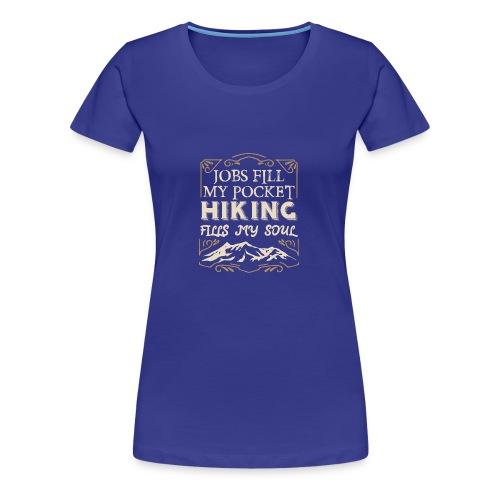 Berge Shirt · Berg · Wandern · Natur · Geschenk - Frauen Premium T-Shirt