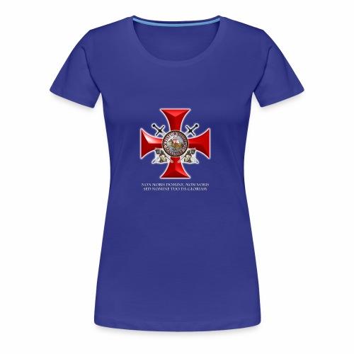 TEMPLARIOS - Camiseta premium mujer