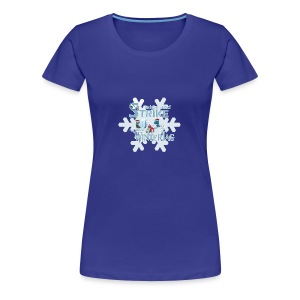 [WaS]-Wintert? - Frauen Premium T-Shirt