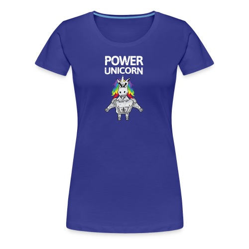 Power Unicorn - Einhorn Shirt - Frauen Premium T-Shirt