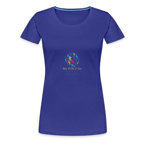 PFOVoice - Frauen Premium T-Shirt