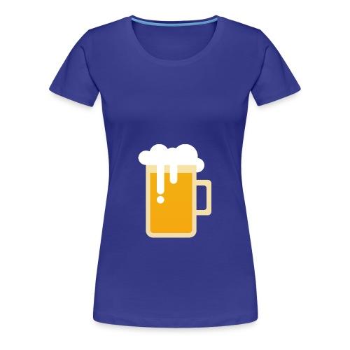 Beerplop Bierkrug Basic - Frauen Premium T-Shirt