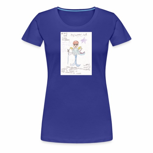 Big Swimmer Bill DHIRT - Women's Premium T-Shirt
