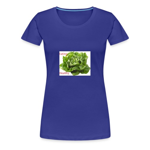 salat eating helthy - Frauen Premium T-Shirt