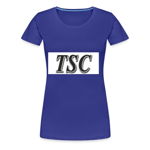 TSC Black Text - Women's Premium T-Shirt