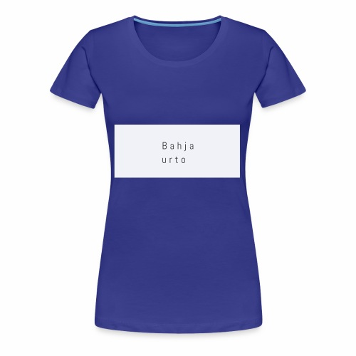 Bahja urto - Vrouwen Premium T-shirt