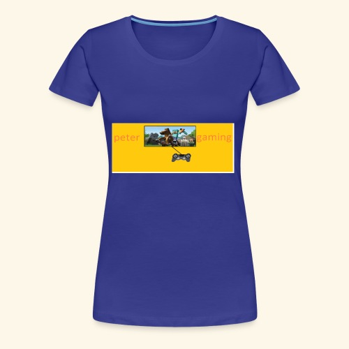 peter gaming - Women's Premium T-Shirt