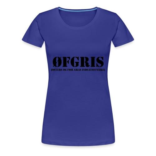 ØFGRIS - Premium - Dame premium T-shirt