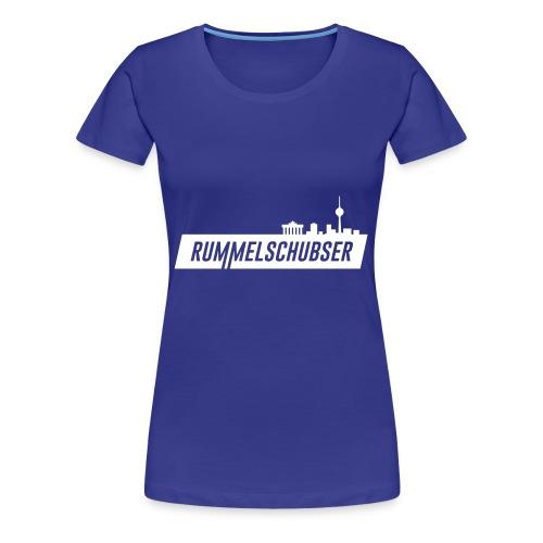 RS Balken weiß - Frauen Premium T-Shirt