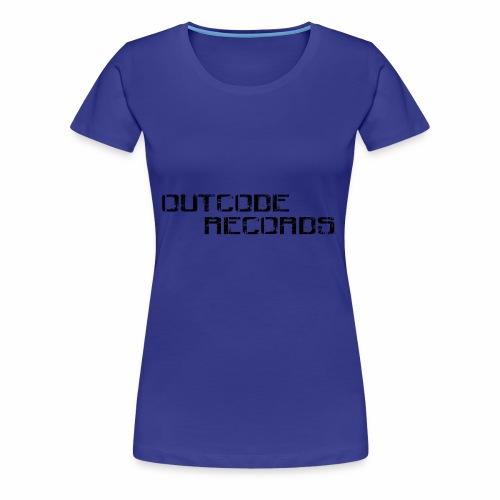Letras para gorra - Camiseta premium mujer