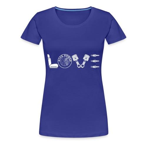 Love Alfa - Maglietta Premium da donna