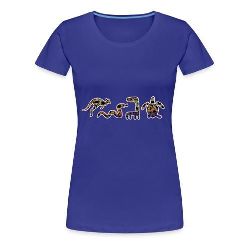 Les kangourous noirs - T-shirt Premium Femme