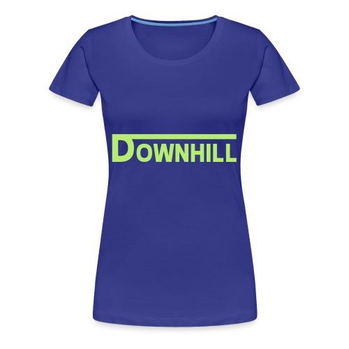 DHDLX VNS Logo Grün - Frauen Premium T-Shirt