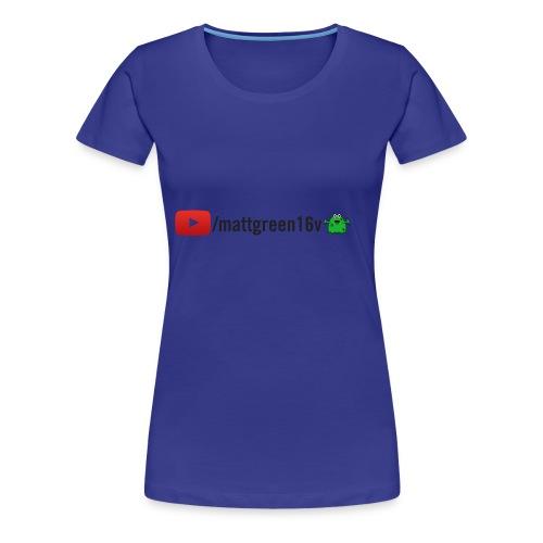 mr snot youtube - Women's Premium T-Shirt