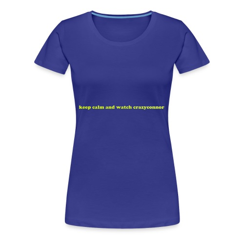 keep calm t shirt - Women's Premium T-Shirt