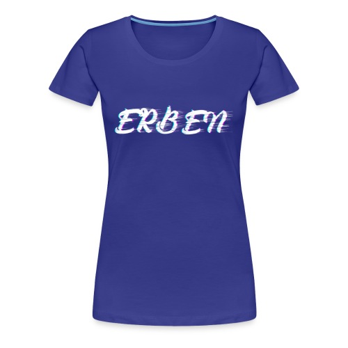 Logo ''ERBEN'' - Vrouwen Premium T-shirt