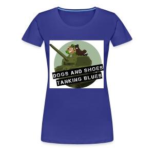logo dogs nieuw - Vrouwen Premium T-shirt