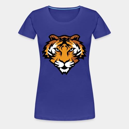 Tiger Mascot - Women's Premium T-Shirt