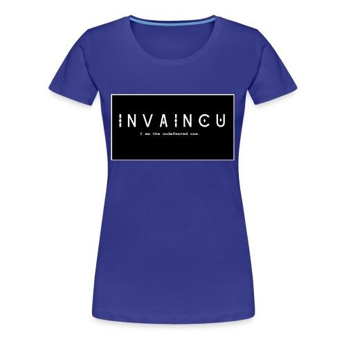 INVAINCU - Women's Premium T-Shirt