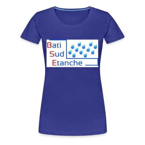 bati sud etanche logo Copie - T-shirt Premium Femme