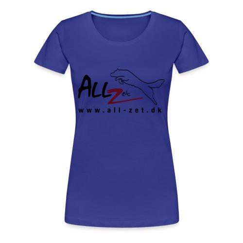 All Zet Logo - Dame premium T-shirt
