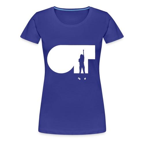 ANA WAR SILUETA BLANCA - Camiseta premium mujer
