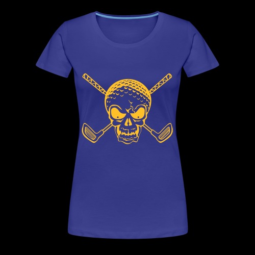 Schwarzlicht Semester Totenkopf - Frauen Premium T-Shirt