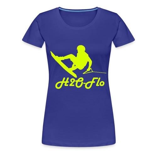 H2O-Flo - Frauen Premium T-Shirt