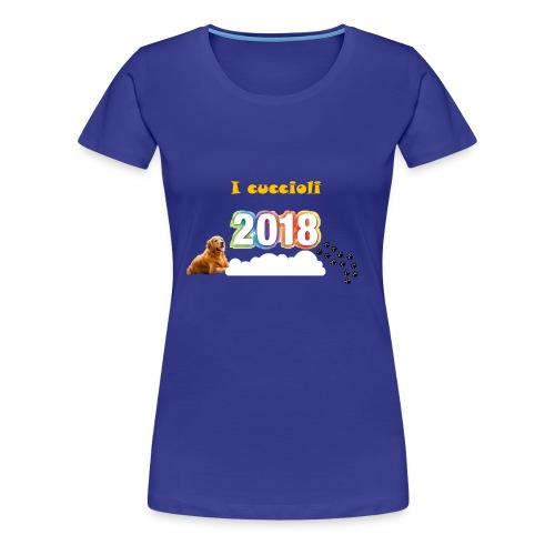Magliette ufficiali 2018 dei cuccioli - Maglietta Premium da donna