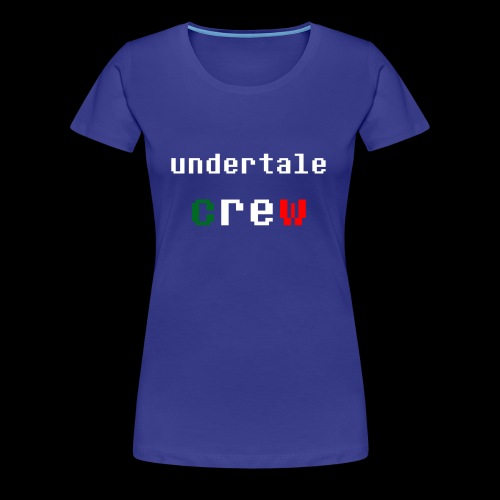 Collezione 3 Undertale Crew - Maglietta Premium da donna