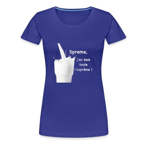 Logo Sprème - T-shirt Premium Femme