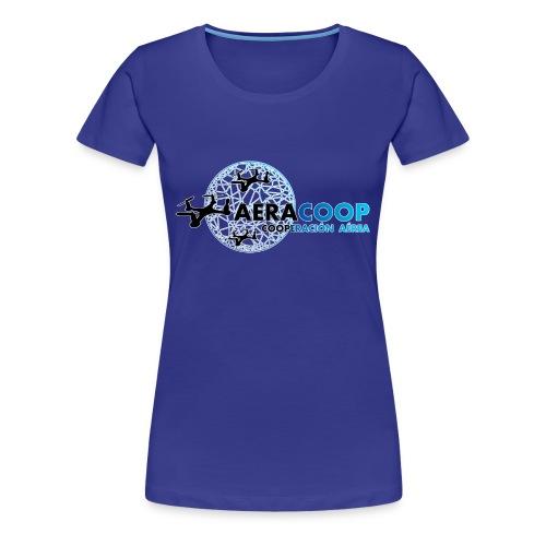 Logotipo de aeracoop - Camiseta premium mujer