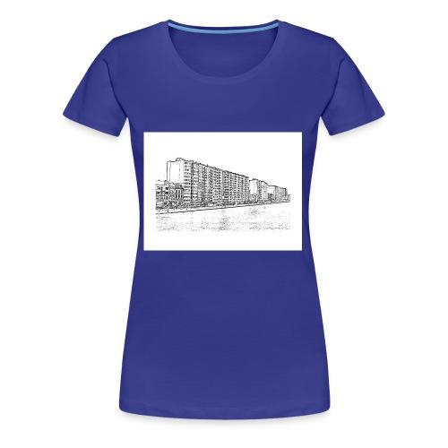 4000 Tox' City - T-shirt Premium Femme