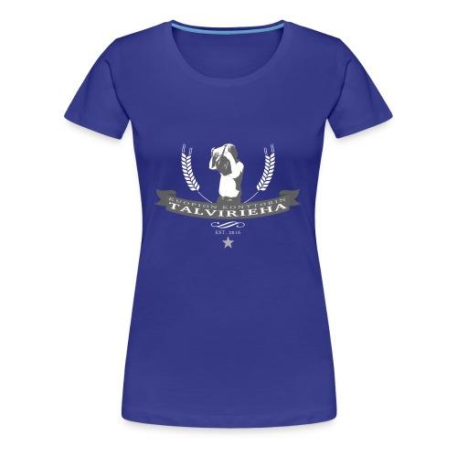 Talvirieha - Naisten premium t-paita