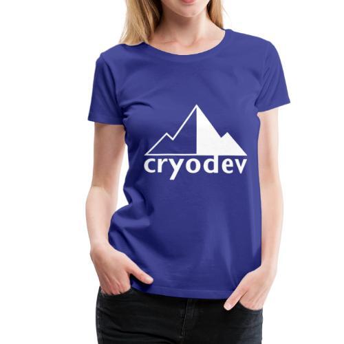 Cryodev AB Logo - Premium-T-shirt dam