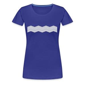 La mer et ses vagues - T-shirt Premium Femme