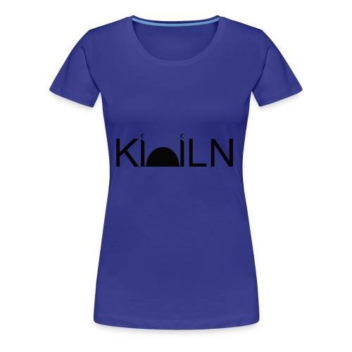Logo Moschee Köln schwarz ausgemalt auf weiß - Frauen Premium T-Shirt