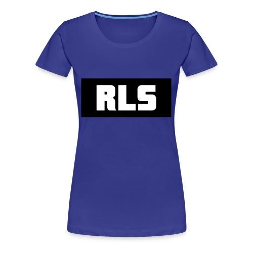 RLS t-shirt White&Black - Vrouwen Premium T-shirt