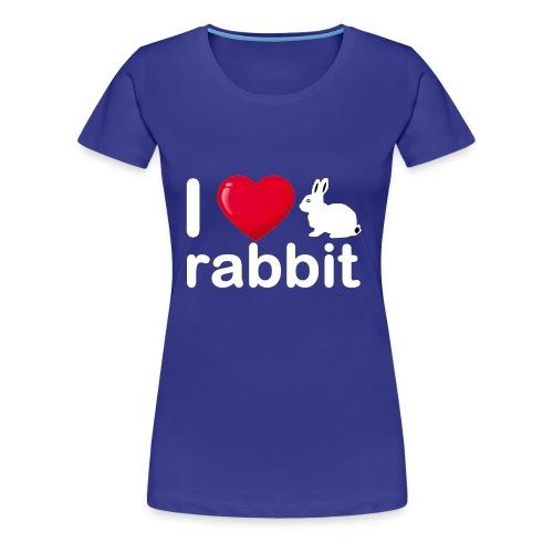 Zu nett Kaninchen i lieben weißes Kaninchen - Frauen Premium T-Shirt