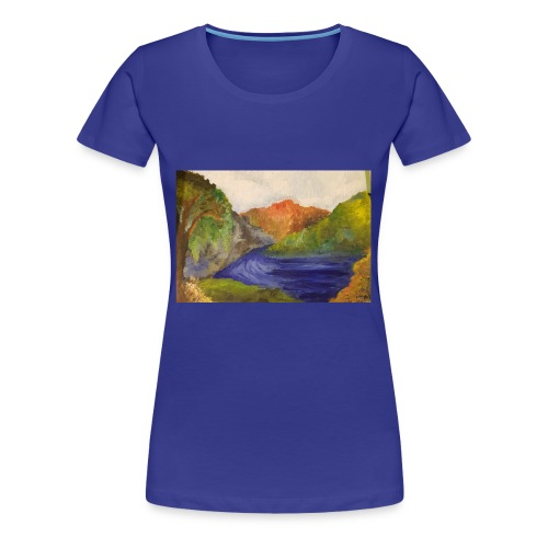 flo 1 - Women's Premium T-Shirt