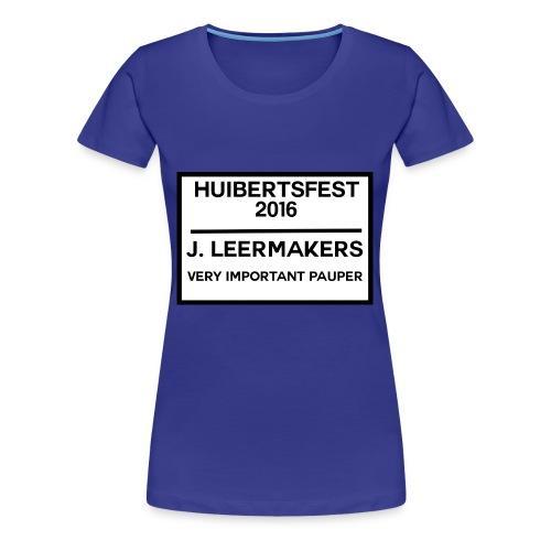 Huibertsfest - Vrouwen Premium T-shirt