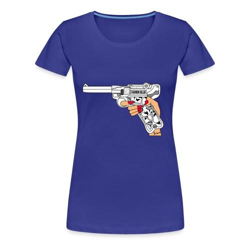 FashionK - Camiseta premium mujer