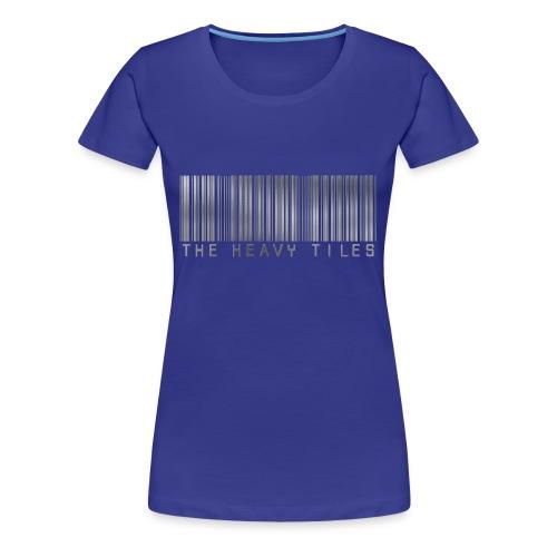 The Heavy Tiles Barcode collection - Maglietta Premium da donna