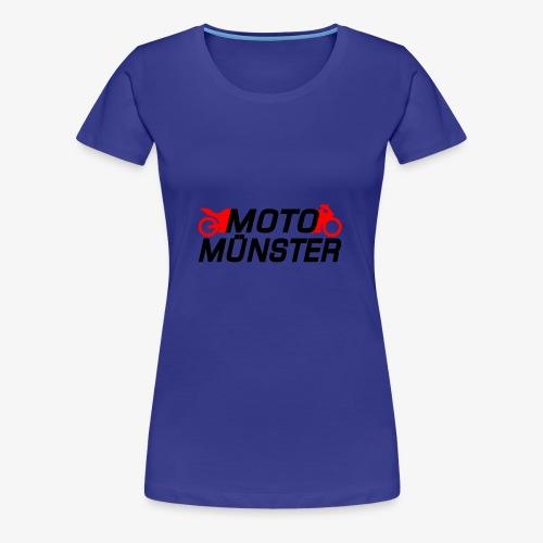 MotoMünster Logo - Frauen Premium T-Shirt